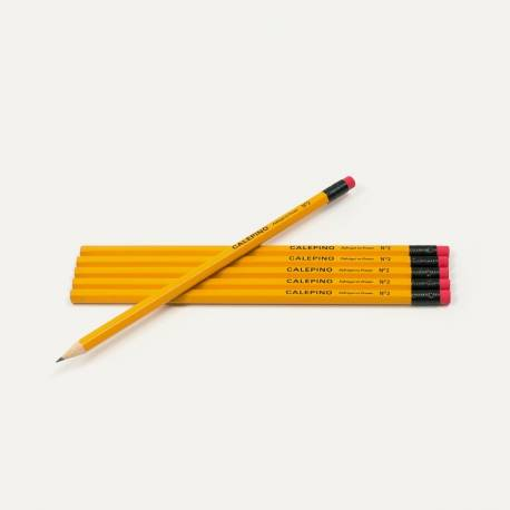Wooden Pencil - Set of 6 pencils