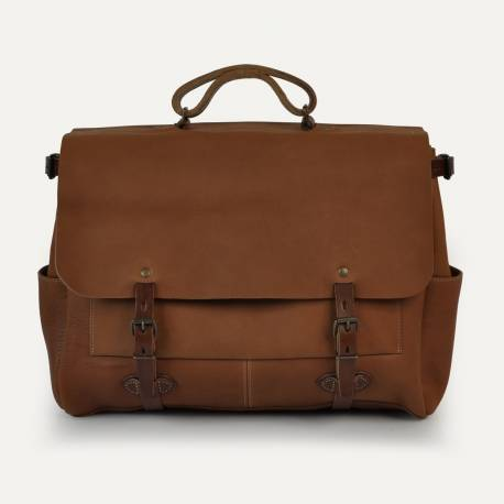 Executive Postman bag 48h Irving - Pain brûlé