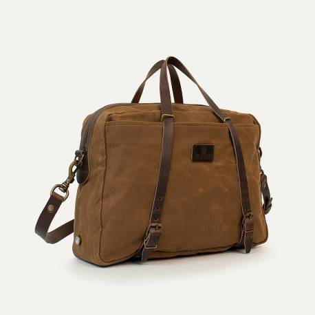 Business bag Report WAXY - Camel