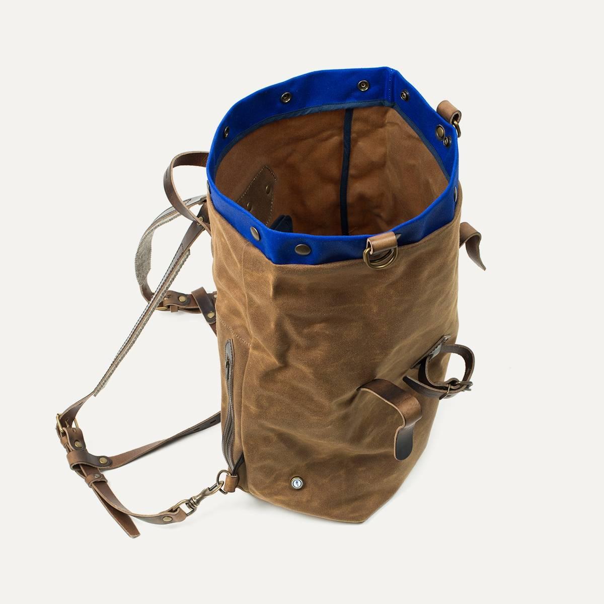 sac dos scout blitz mortorcycles bleu de chauffe. Black Bedroom Furniture Sets. Home Design Ideas