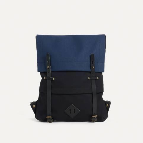 Coursier backpack - Blue Black / Bleu de Chauffe x Le Mont Saint Michel