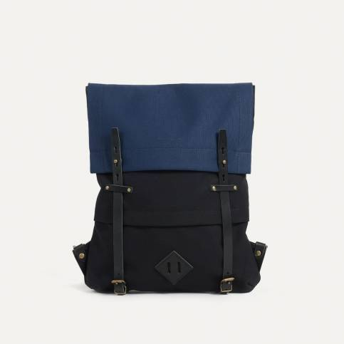 Sac Coursier - Bleu Noir / Bleu de Chauffe x Le Mont Saint Michel