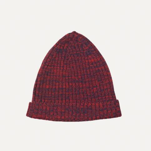 Léon hat - Red Navy blue / Bleu de Chauffe x Le Mont Saint Michel