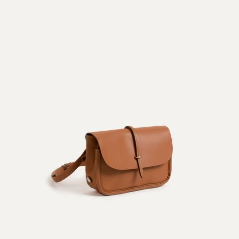 Mini Postman bag Pastel - Brown/Green