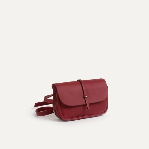 Mini Postman bag Pastel - Burgundy