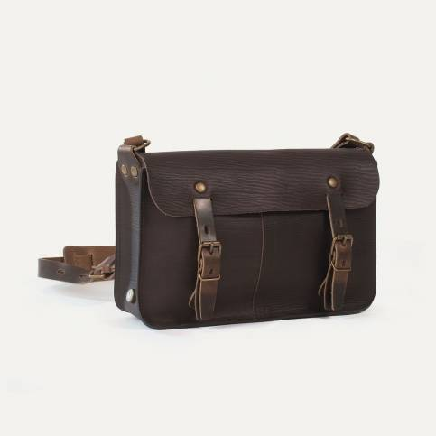 Léo plumber bag - Brown/Cork
