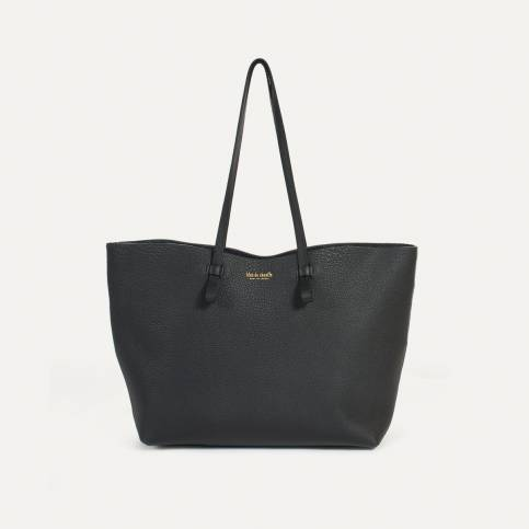 Joy Tote bag M - Black Crispi