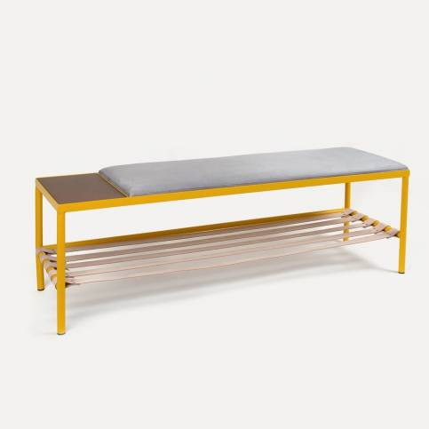 BDC x KANN Design Yellow bench