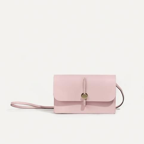 Joan Clutch bag - Powder Pink