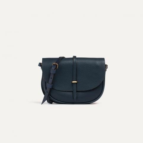 Java mini Postman bag - Navy Blue