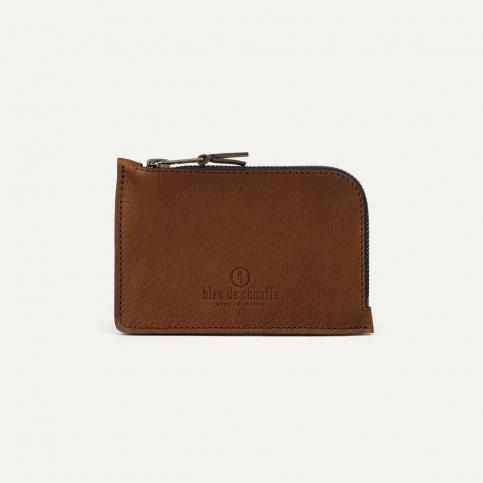 Pognon zippered purse - Cuba Libre