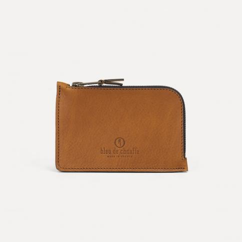 Pognon zipped purse - Expresso