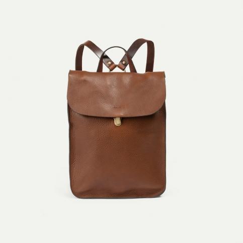 Puncho leather backpack - Cuba Libre / E Pure