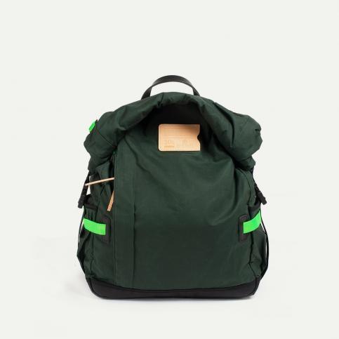 20L Basile Backpack - khaki Neon