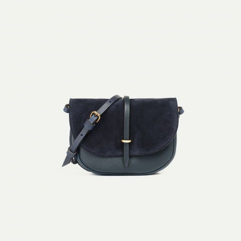 Java mini Postman bag - Marine Blue
