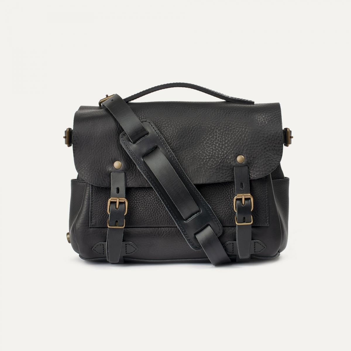 Postman bag Éclair S - Black (image n°1)