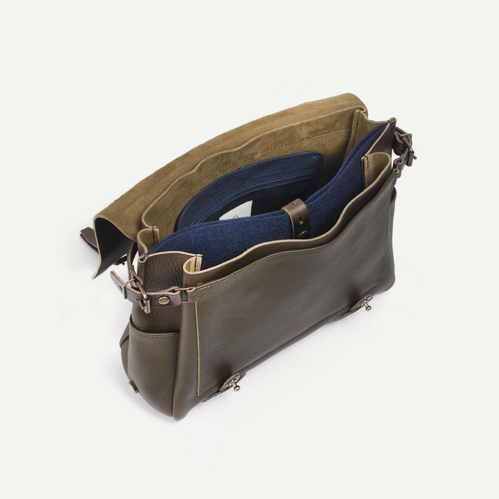 Postman bag Eclair M - Khaki (image n°4)