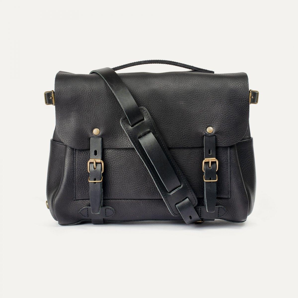 Postman bag Éclair M - Black (image n°1)