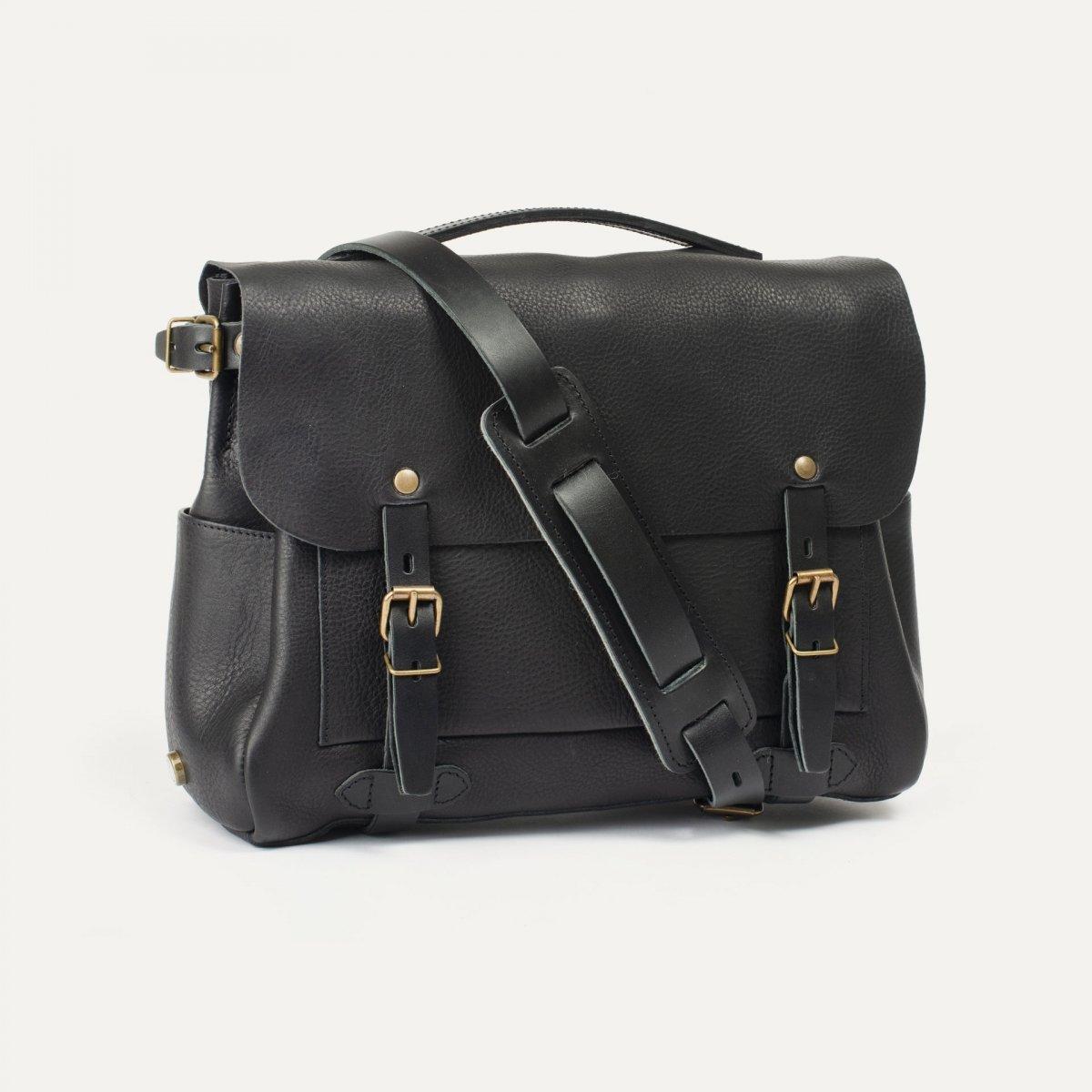 Postman bag Éclair M - Black (image n°2)