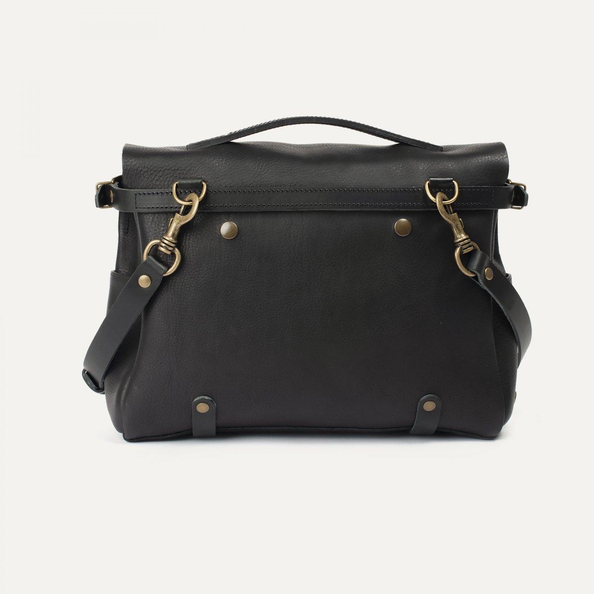 Postman bag Éclair M - Black (image n°3)