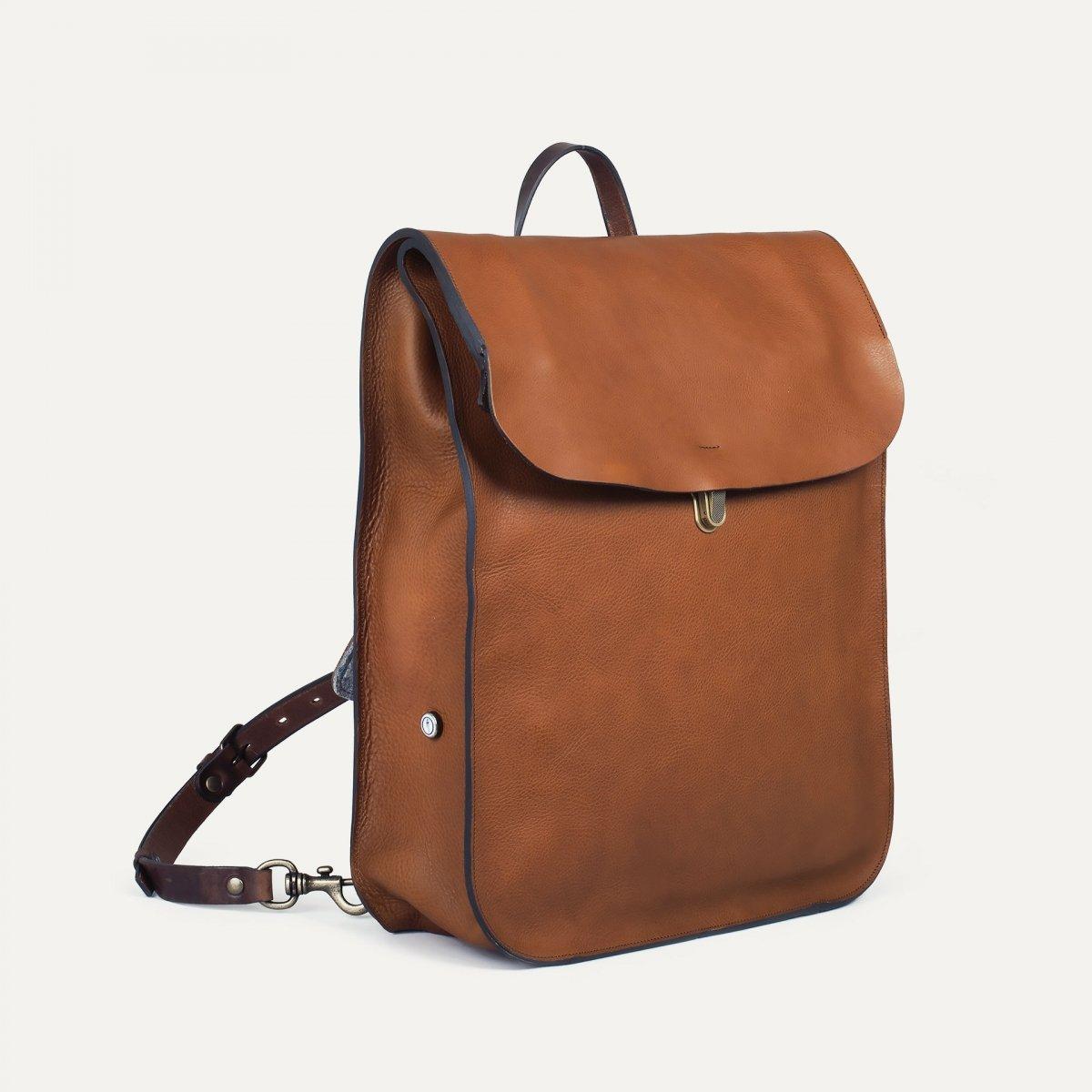Arlo leather backpack - Cuba Libre / E Pure (image n°2)
