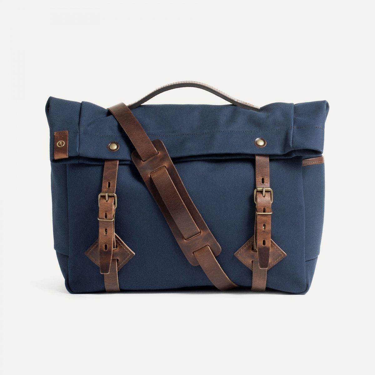 "Gaston tool bag – ""Musette""- Peacoat Blue (image n°1)"