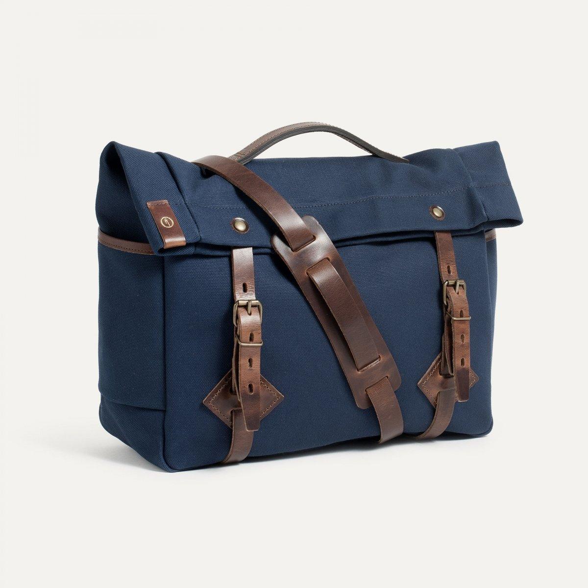 "Gaston tool bag – ""Musette""- Peacoat Blue (image n°2)"
