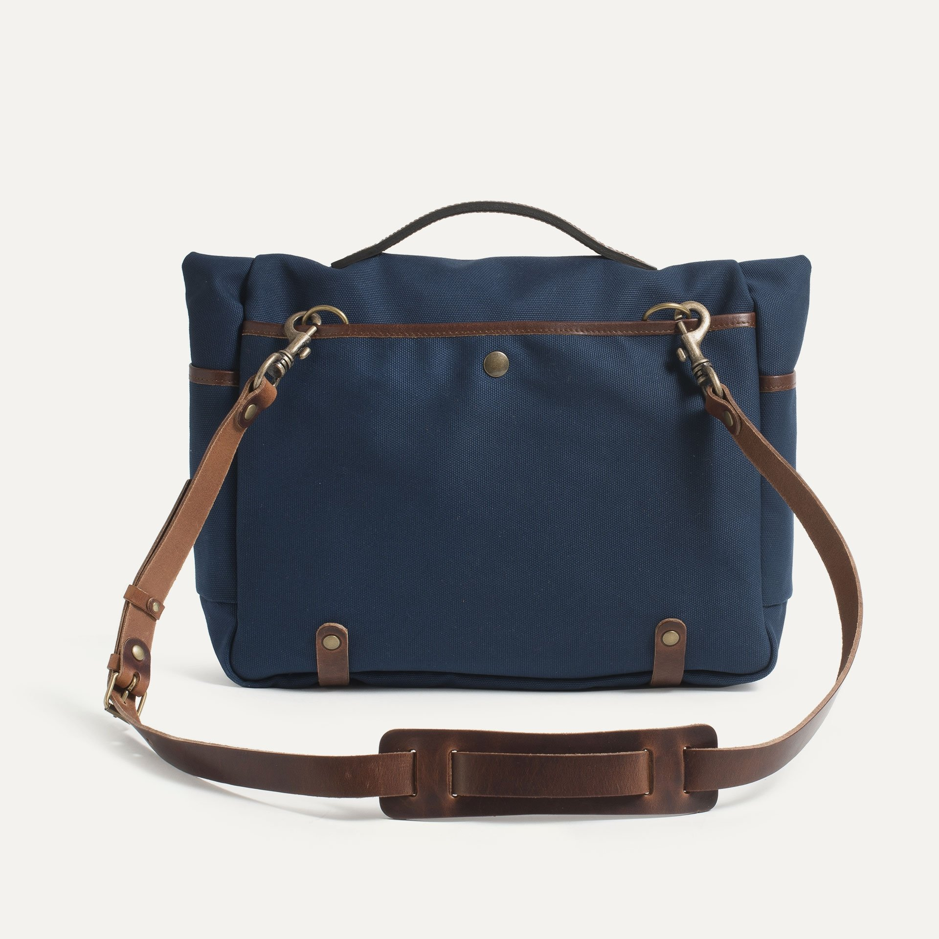 "Gaston tool bag – ""Musette""- Peacoat Blue (image n°3)"