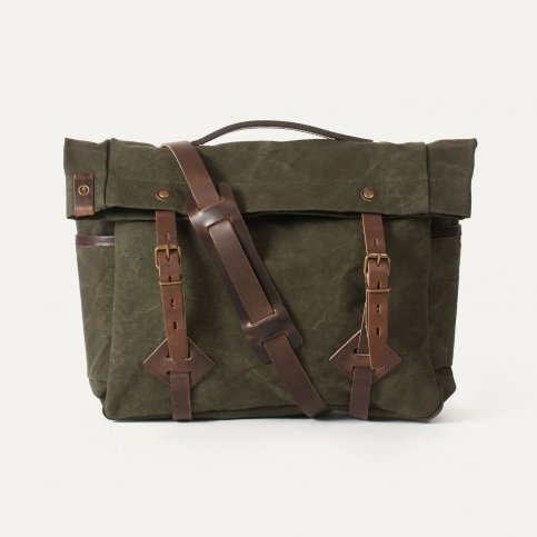 """Gaston tool bag – """"Musette"""" - Dark Khaki"""