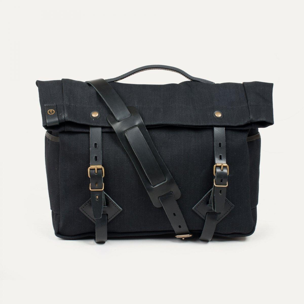 "Gaston tool bag – ""Musette"" - Black (image n°1)"