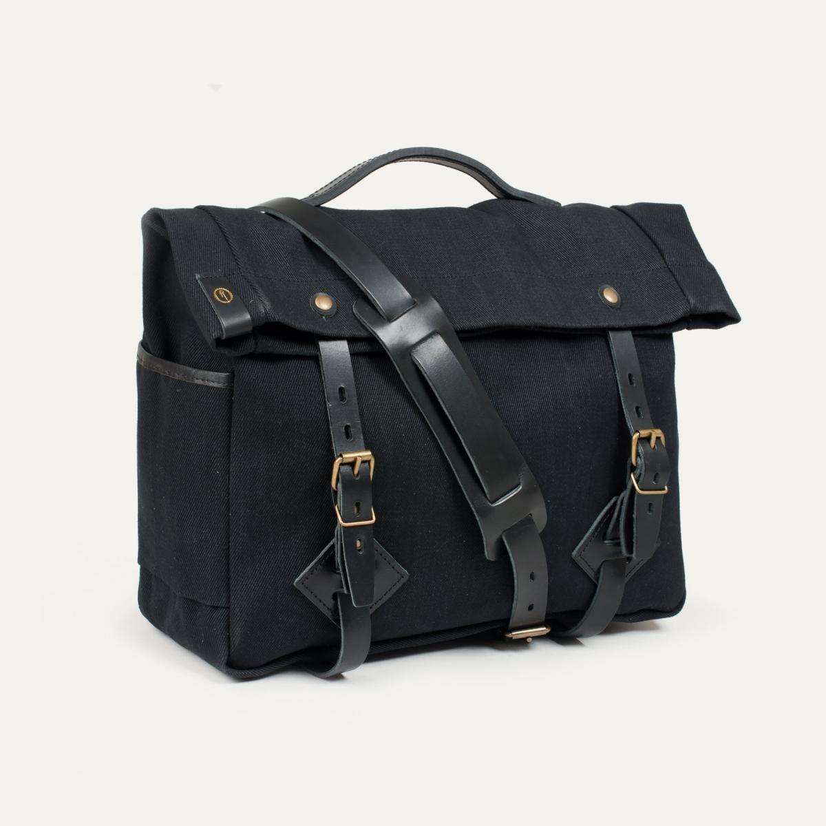 "Gaston tool bag – ""Musette"" - Black (image n°2)"