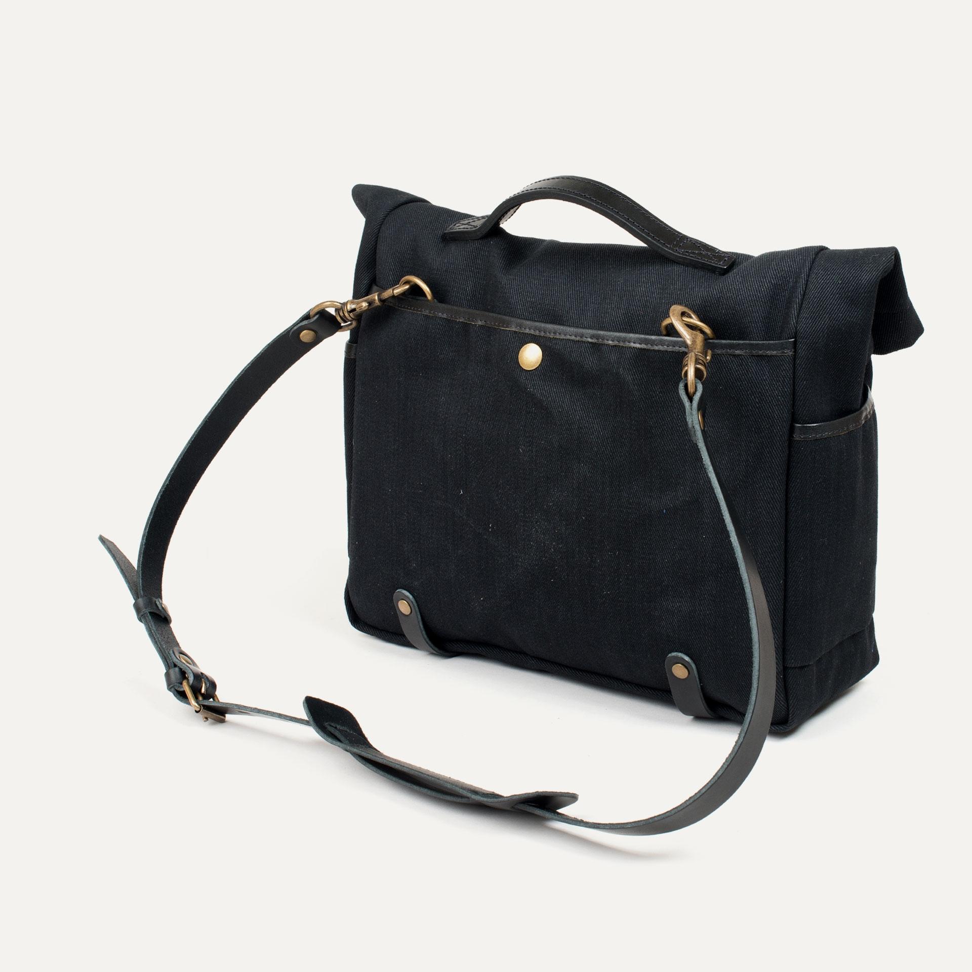 "Gaston tool bag – ""Musette"" - Black (image n°3)"