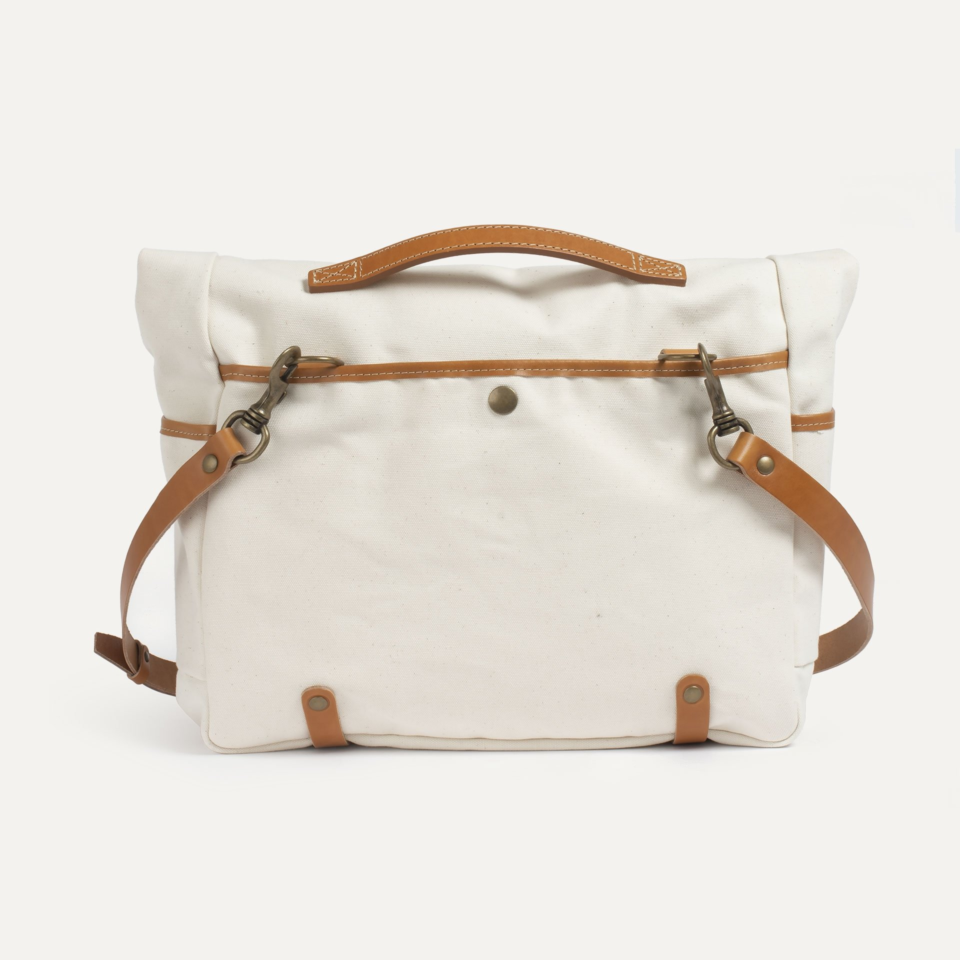 "Gaston tool bag – ""Musette"" - Ecru (image n°3)"