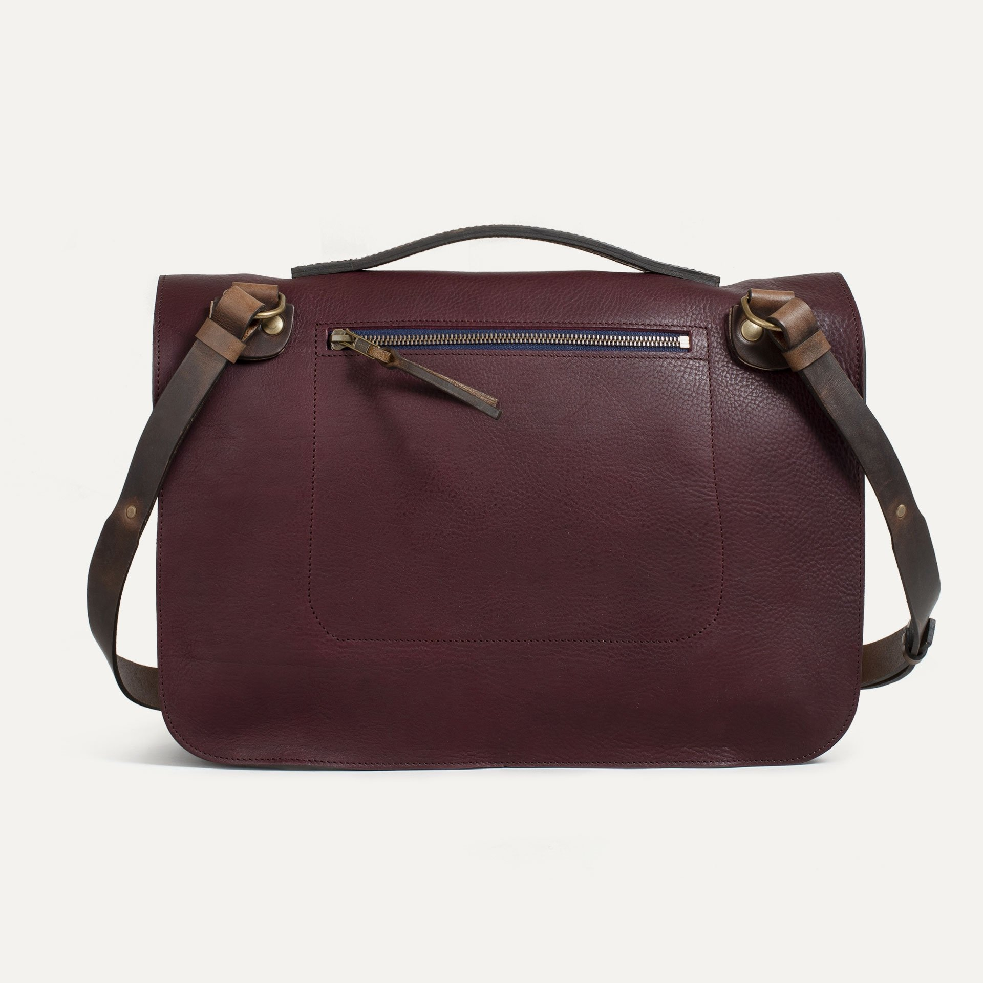 Groucho Leather Satchel - Peat / E Pure (image n°2)