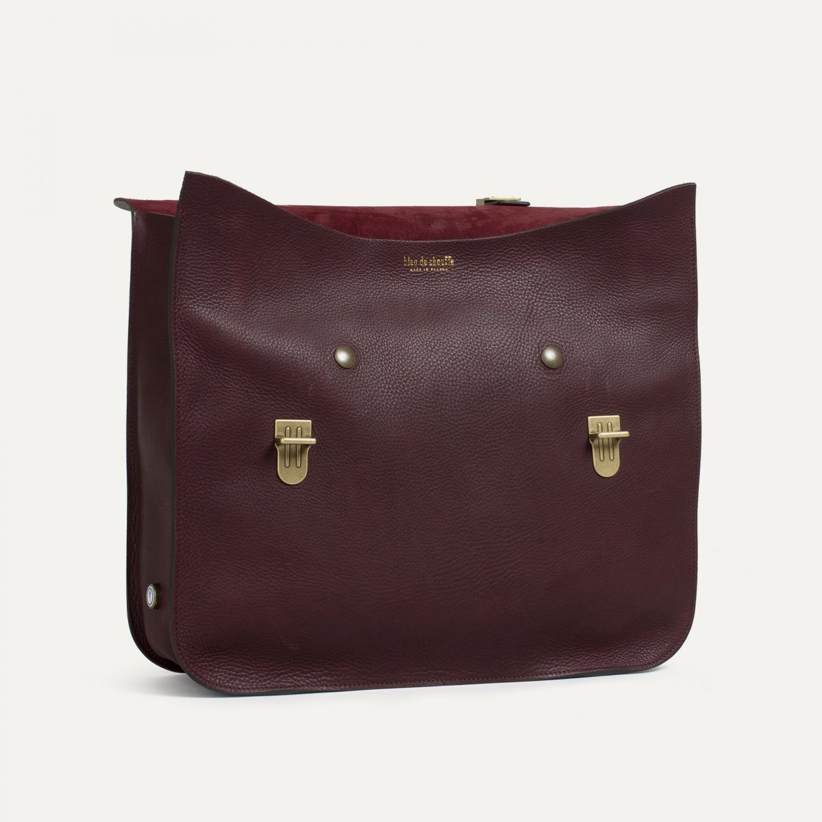 Groucho Leather Satchel - Peat / E Pure (image n°3)