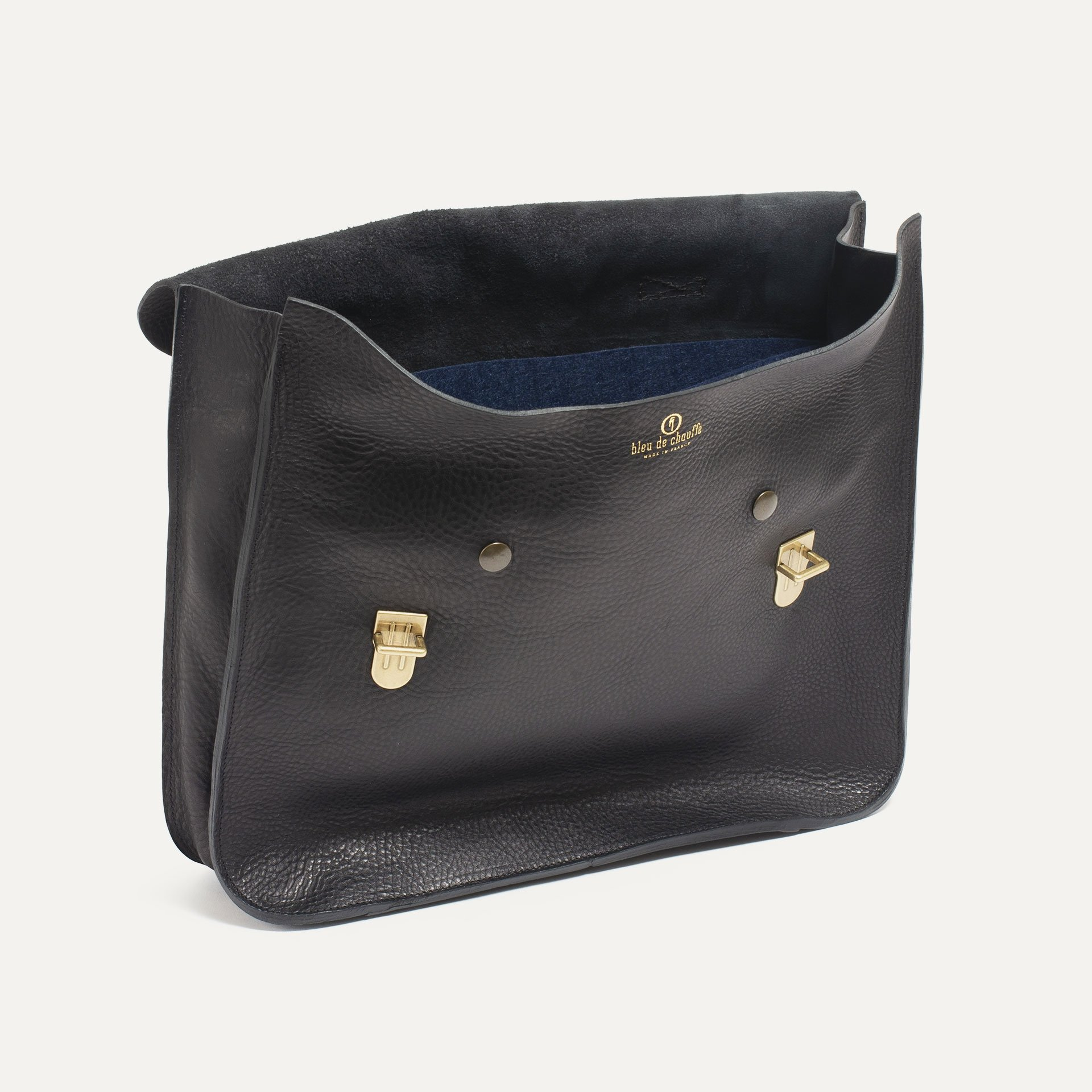 Groucho Leather Satchel - T Moro / E Pure (image n°3)