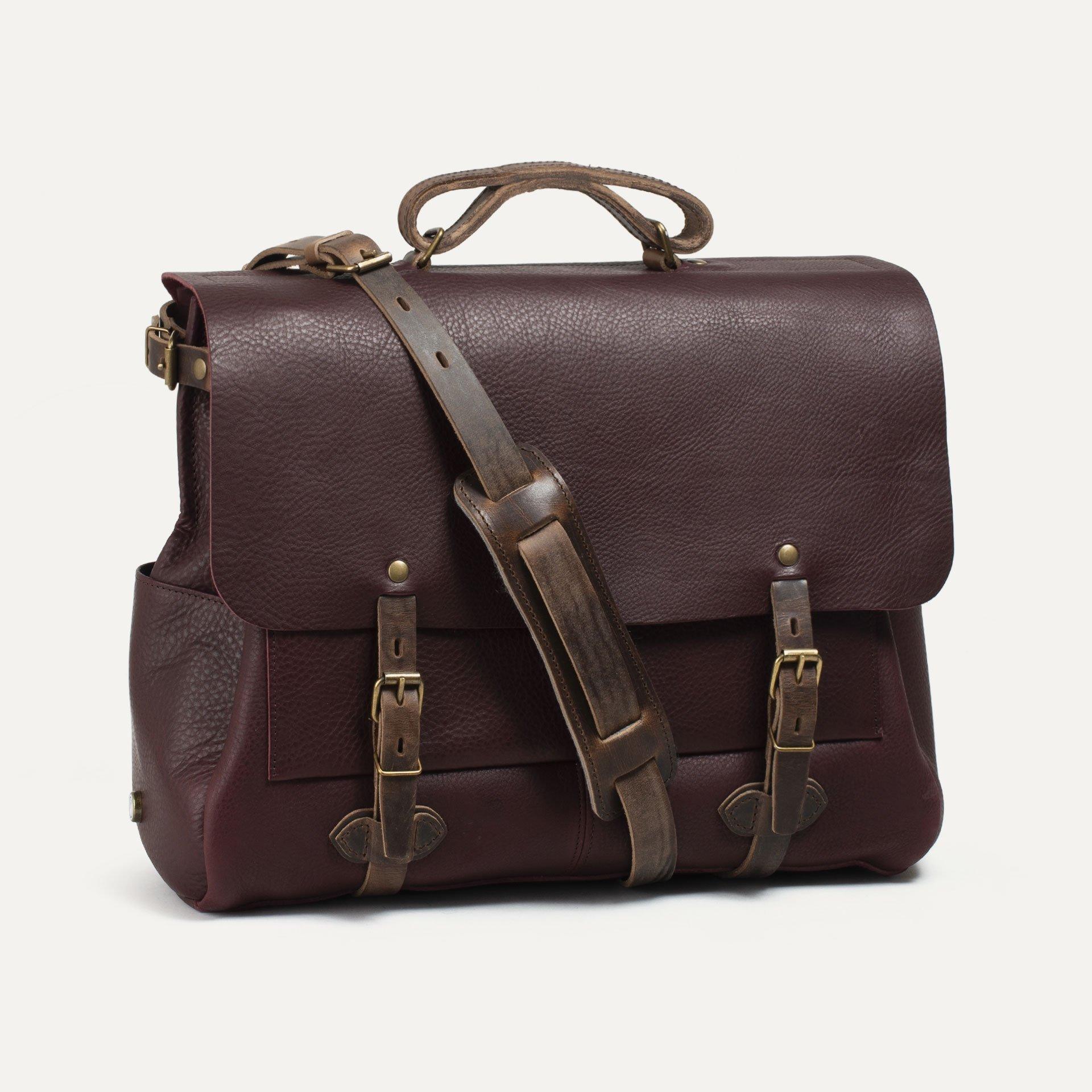 48h Irving Executive Postman bag - Peat (image n°2)