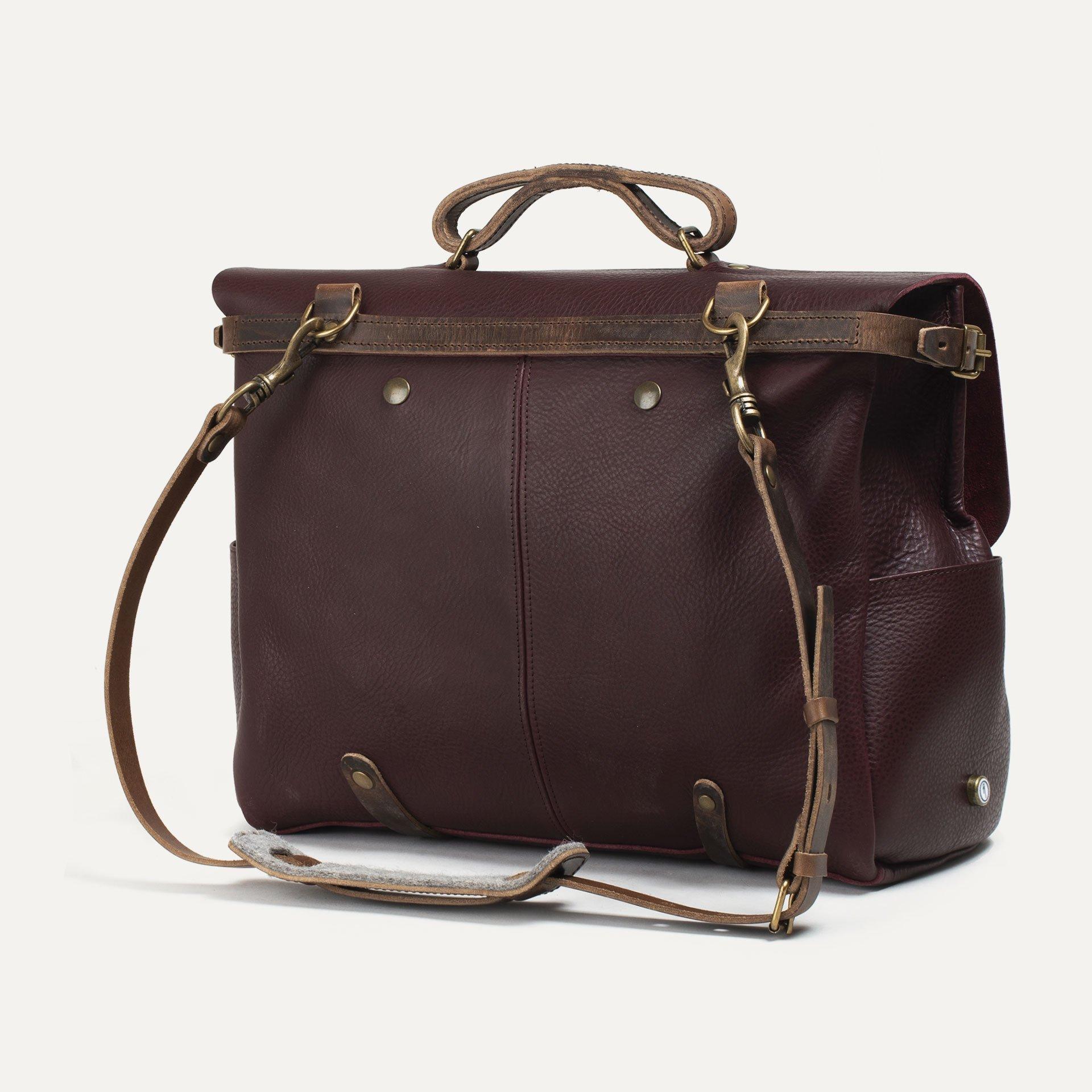 48h Irving Executive Postman bag - Peat (image n°3)