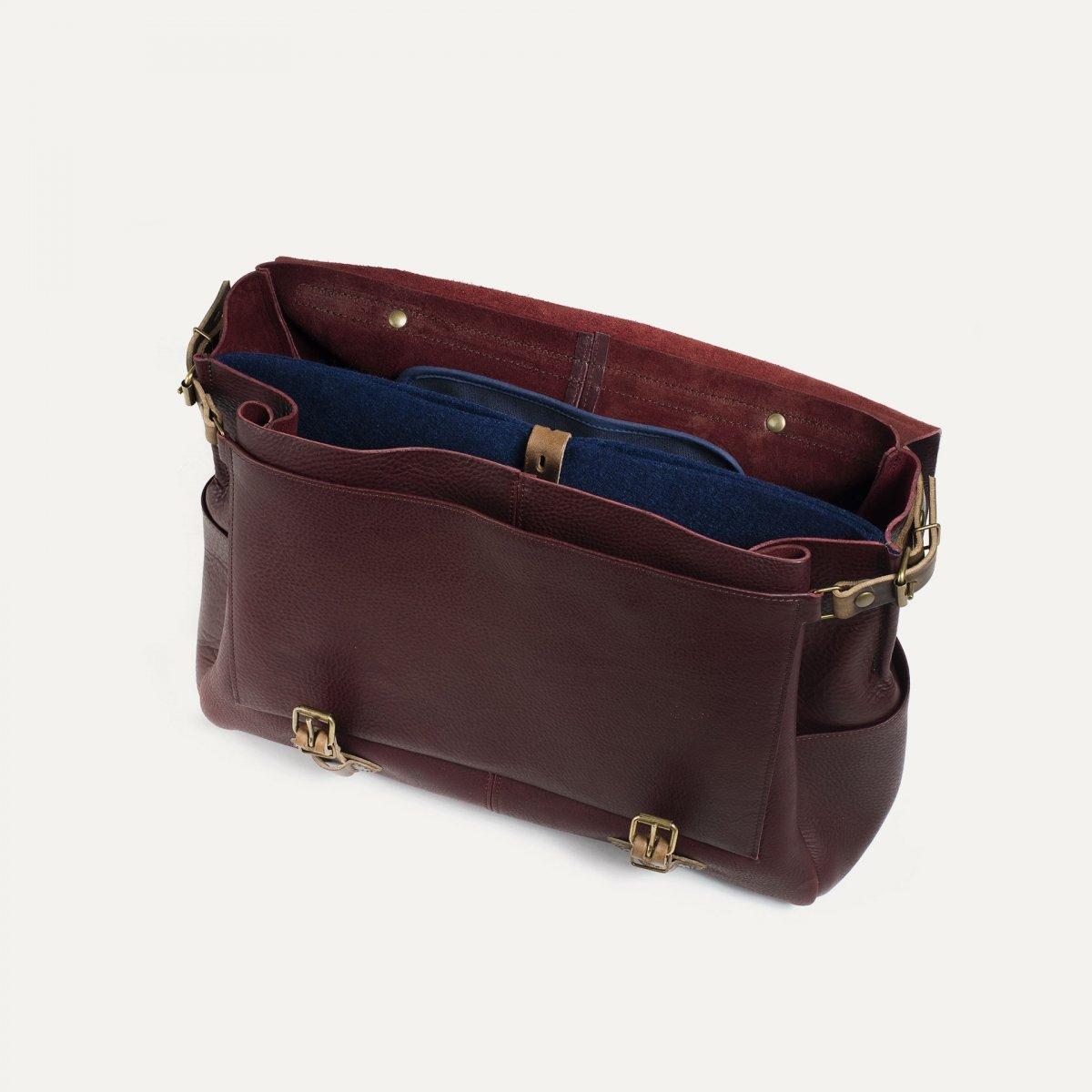 48h Irving Executive Postman bag - Peat (image n°4)