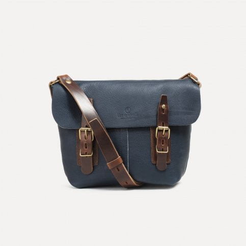 Louis Satchel bag - Navy Blue