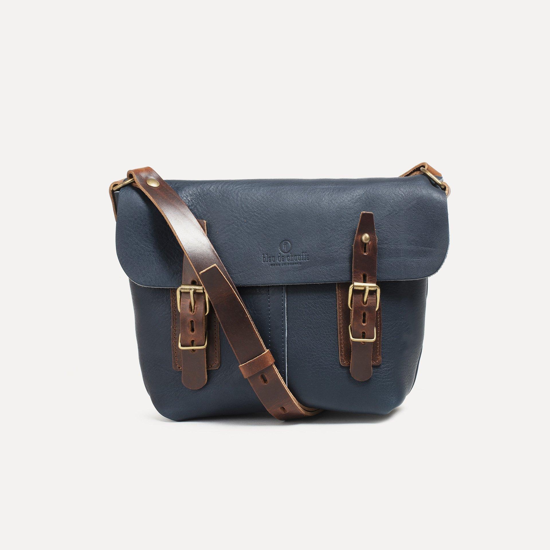 Louis Satchel bag - Navy Blue (image n°1)