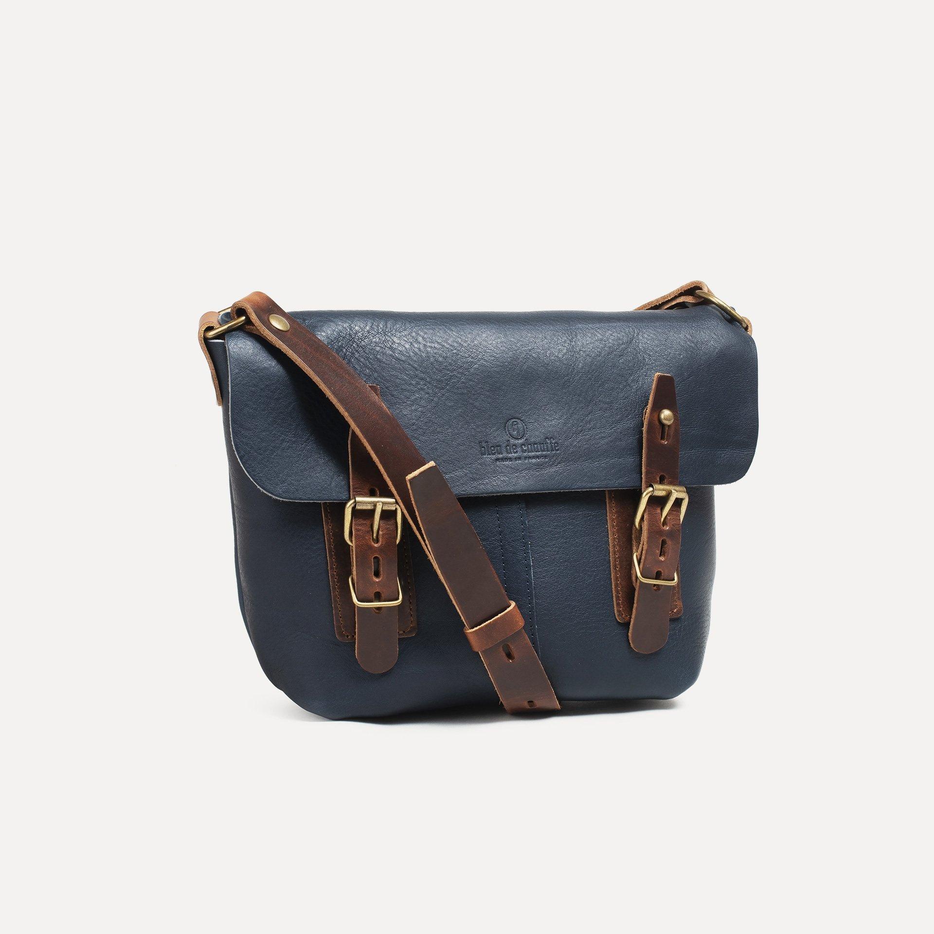 Louis Satchel bag - Navy Blue (image n°2)