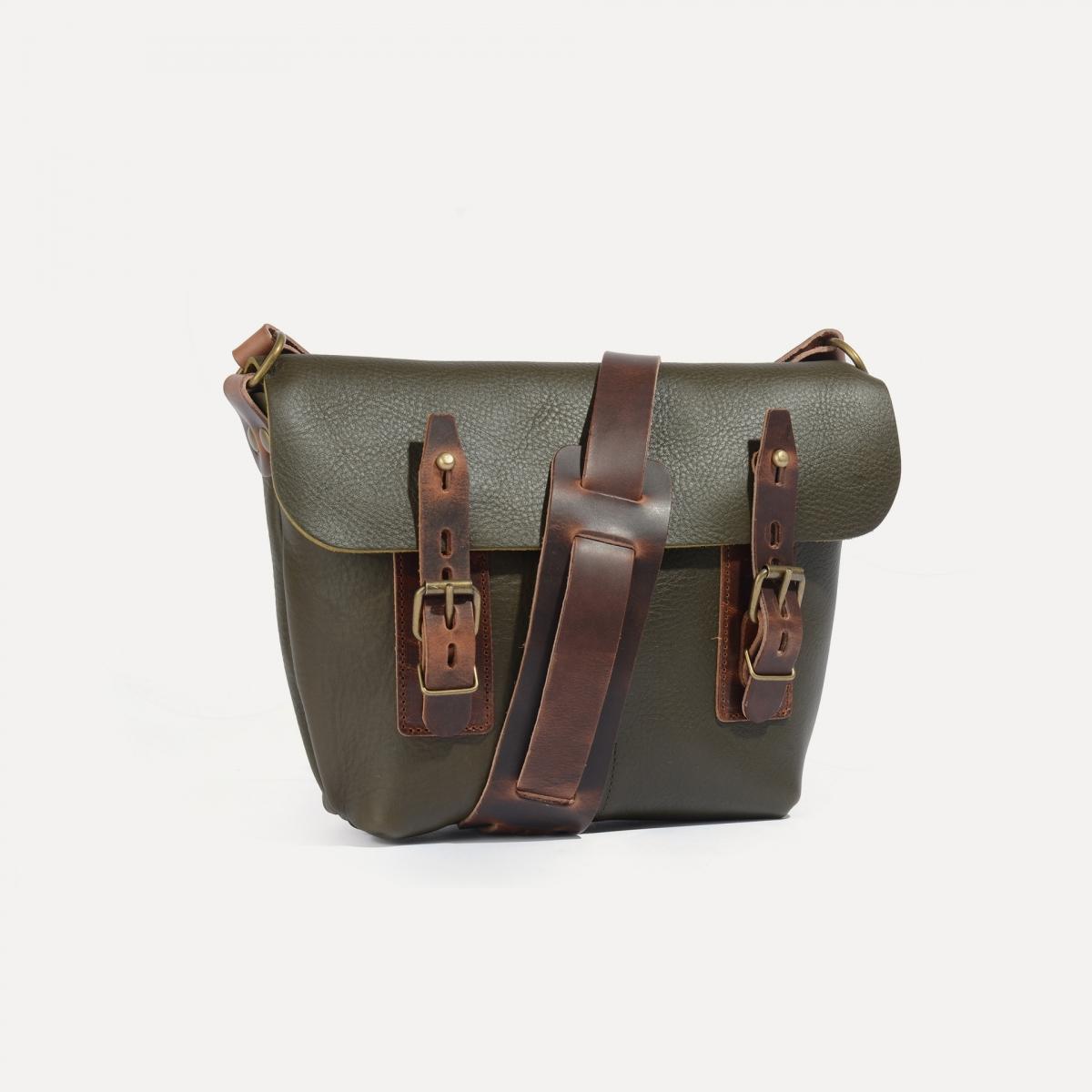 Louis Satchel bag - Khaki (image n°2)