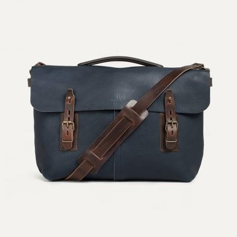 Lucien Satchel bag - Navy Blue