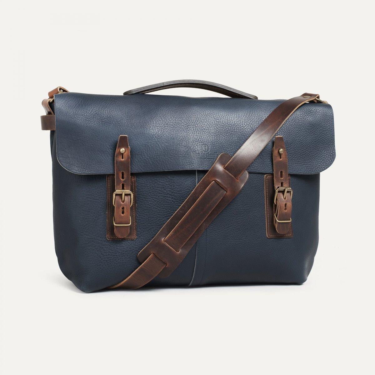 Lucien Satchel bag - Navy Blue (image n°2)