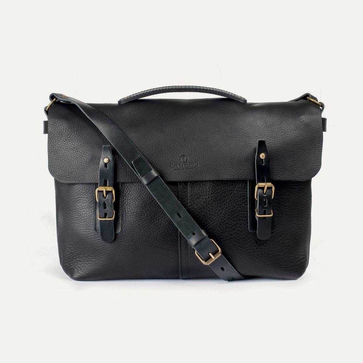 Lucien Satchel bag - Black (image n°1)