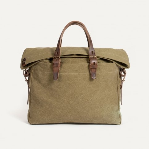 Sac business Remix - kaki stonewashed