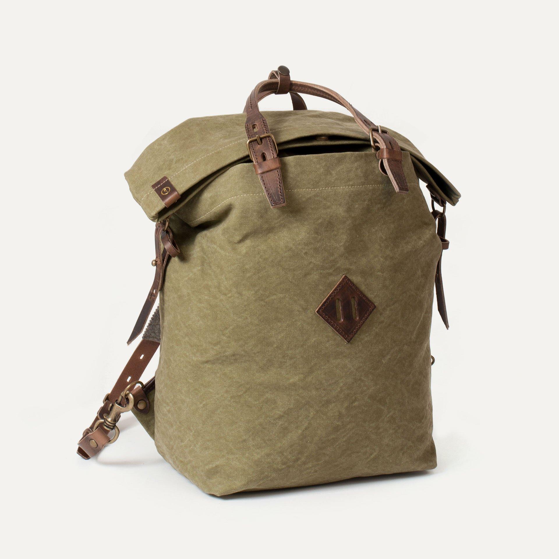 Woody M Backpack - Khaki stonewashed (image n°2)