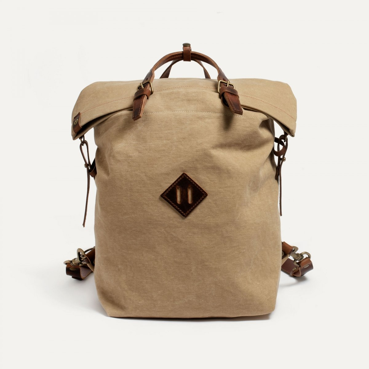 Woody M Backpack - wheat (image n°1)