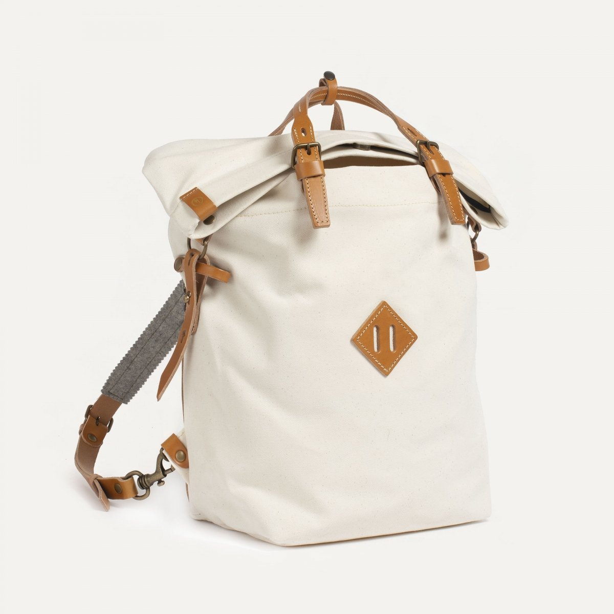 Woody M Backpack - Ecru (image n°2)